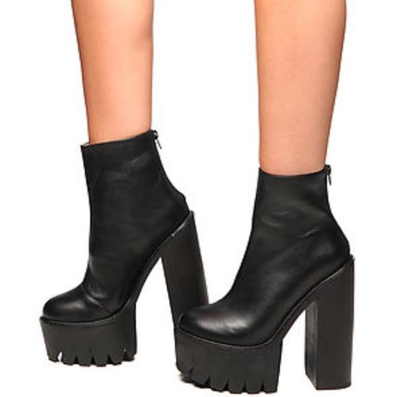 Jeffrey Campbell Womens Mulder-Hi Knee High Boot Shoe