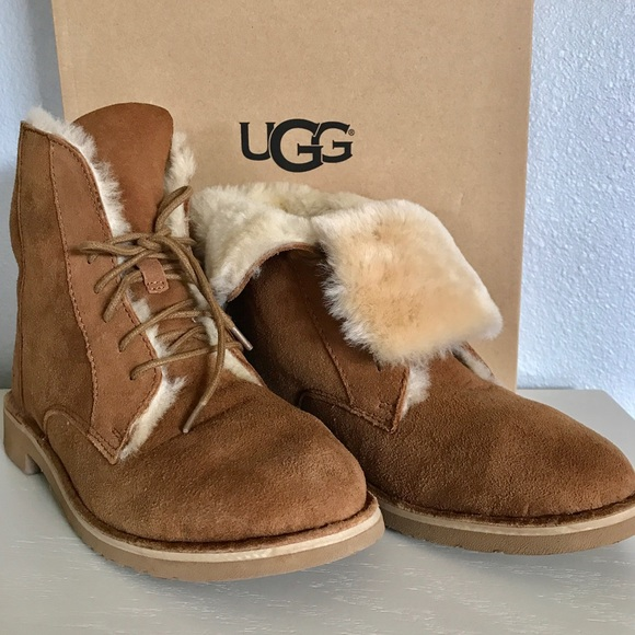 1131975705d UGG Chestnut Quincy Boots NWT