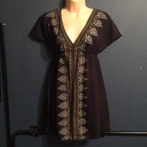 Free people sz S/P mini dress