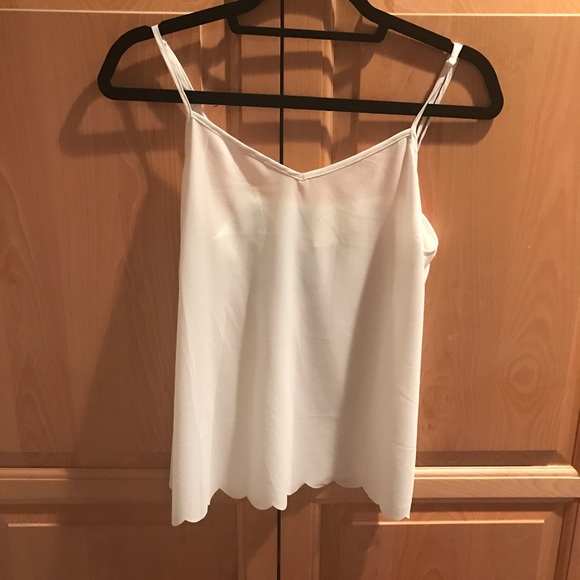 Anthropologie Tops - NWOT Anthropologie scallop cami