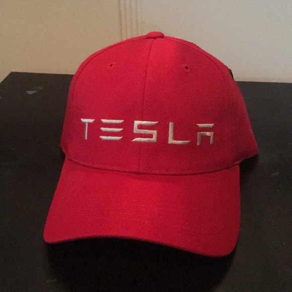 47720ecc Tesla Accessories | Brand New Red Hat | Poshmark