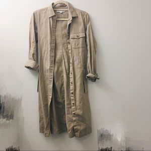 [NEW] Uniqlo Cotton Trench Coat