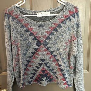 Vintage Havana Cropped Sweater