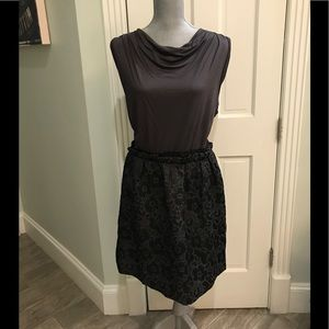 7cd61d2cfbd LOFT Dresses - LOFT Black Metallic Shimmer Party Dress