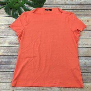 Kate Spade Saturday orange short sleeve tee