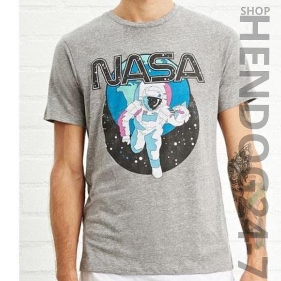 8d62168b74c Forever 21 Shirts | Mens Nasa Graphic Short Sleeve Tee | Poshmark