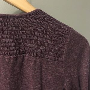 bp Sweaters - Purple Angular Cardigan