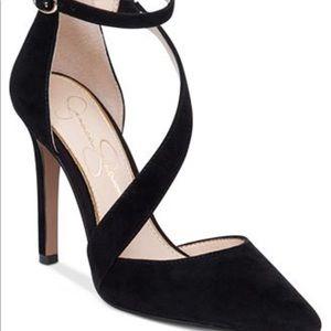 Jessica Simpson suede shoe