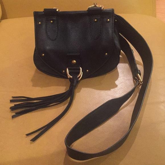 90ca8a0a1d8d NWT See by Chloe Collins Fringe Saddle Bag
