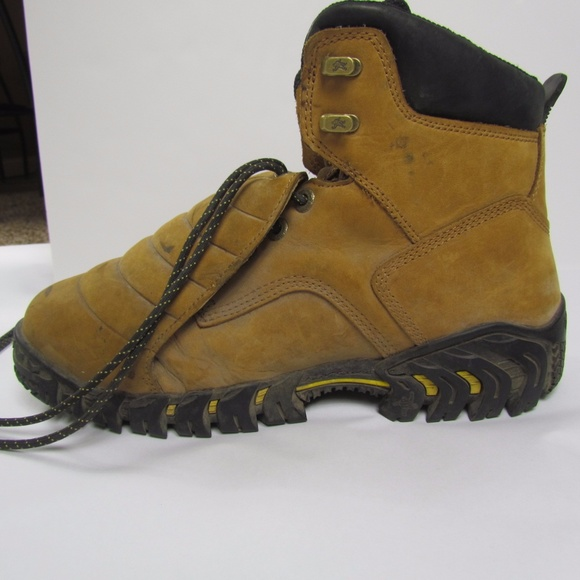 2f8ec3d718b Michelin boots 12 Steel Toe Work Sledge