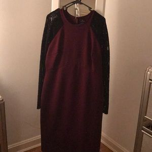 Worthington Lace Sleeve Dress
