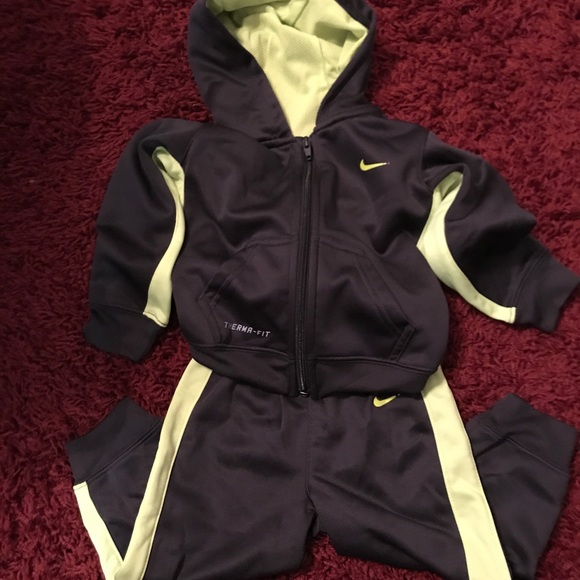 Baby boy Nike Warm up suit