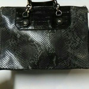 Henri Bendel Snake Print Handbag