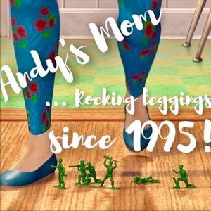Mom feet story Lularoe Pants Jumpsuits Lularoe Os Leggings Unicorn Design Toy Story Poshmark