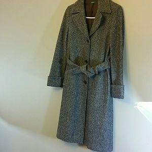 made in Italy of Benetton womens coat size 40