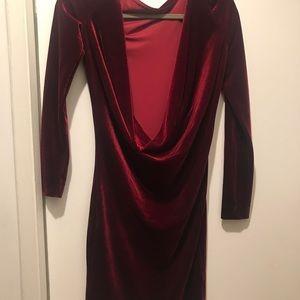 2368dc9ef5774 house of CB Dresses - House of cb annika red velvet dress