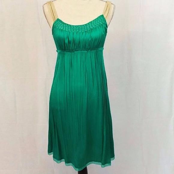 2f5eef924b35 Elie Tahari Dresses & Skirts - Elie Tahari Emerald Mermaid Silk Slip Dress 2  ...