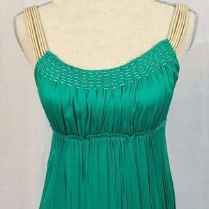 45147ffee63e Elie Tahari Dresses - Elie Tahari Emerald Mermaid Silk Slip Dress 2 4 6