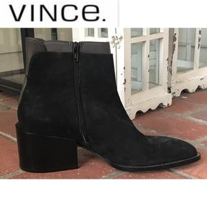 NWT Vince Laura Two-Tone Boot Sz. 9