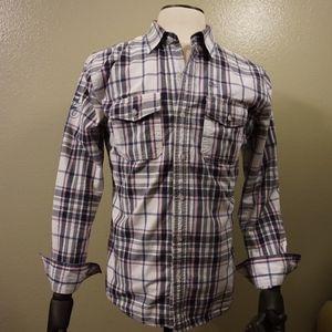 Plaid men's shirt