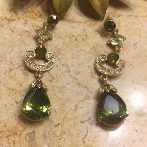 Jewelry - Emerald green Earrings