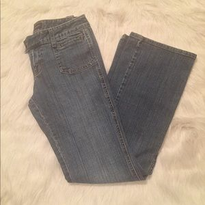 Banana Republic Flare Blue Jeans