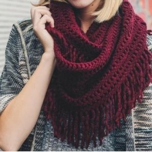Accessories - 🆕 WINE • Infinity Scarf