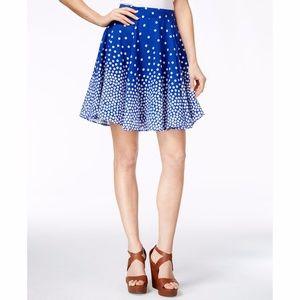 Maison Jules Polka Dot Circle Skirt Lazulite
