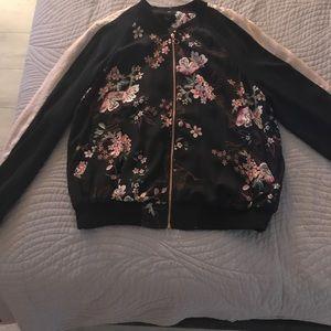 Jackets & Blazers - Silky bomber jacket