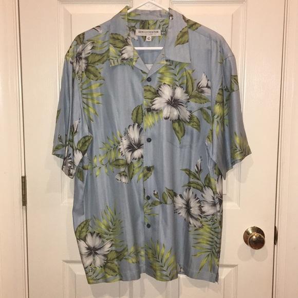 Quicksilver Edition Other - Tropical dress shirt