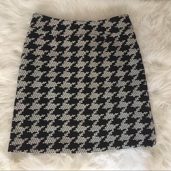 Talbots Skirts - Talbots Black White Skirt