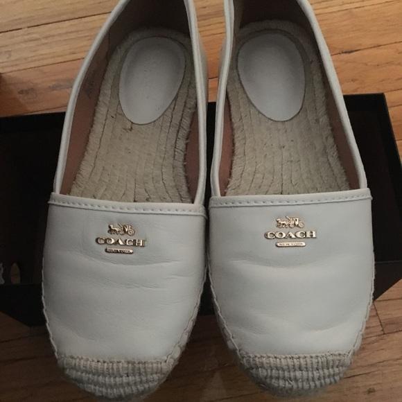 3bcaad3fa52 Coach Shoes - Coach espadrille flats