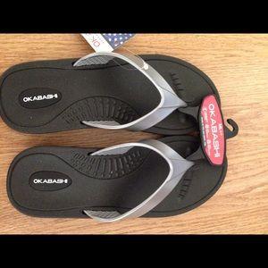 Okabashi Slippers/ Flip Flops 🍄🌹🍁🍃