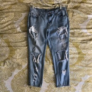 BDG ripped jeans