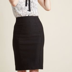 LOT OF TWO - ModCloth Mystic Stretch Pencil Skirts