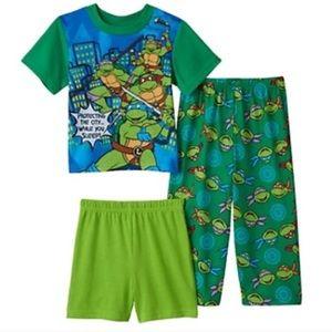 Teenage mutant ninja turtle set