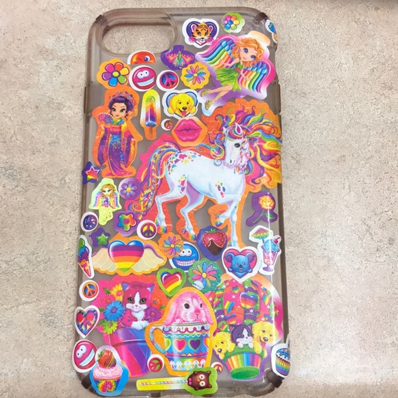 competitive price 9578b eadf0 LISA FRANK STICKER IPHONE 7 CASE