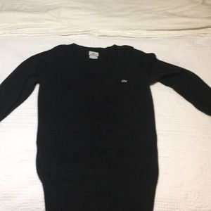 Black LACOSTE sweater size 40