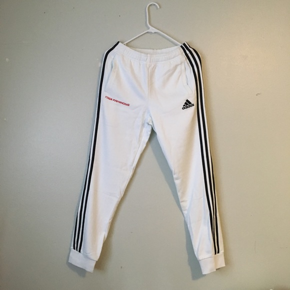 low cost 718eb aafe1 Gosha Rubchinskiy x Adidas Cotton Sweatpants