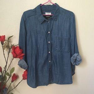 Lou & Grey Tops - Lou & Grey Denim shirt