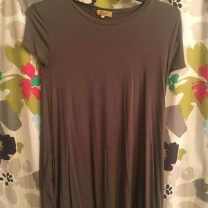 Piko swing dress with pockets