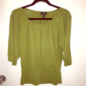 Tops - IZ Byer Sale olive green Dolman sleeve knit top S