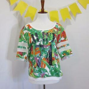 Juicy '74 Tropical Jersey Sweatshirt LL16