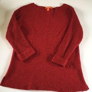 Red Orange Joe Fresh Crew Neck Sweater XS