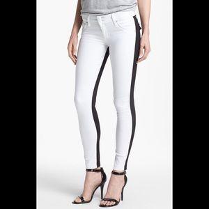 white hudson jeans skinny jeans on Poshmark