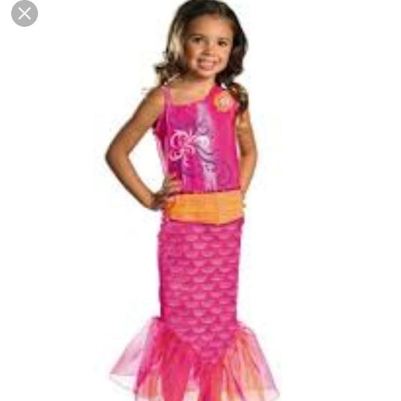 Barbie Costumes Mermaid Costume Merliah New Size S Or 46 Poshmark