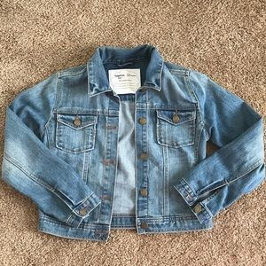 GAP Girls Jean Jacket Size 12