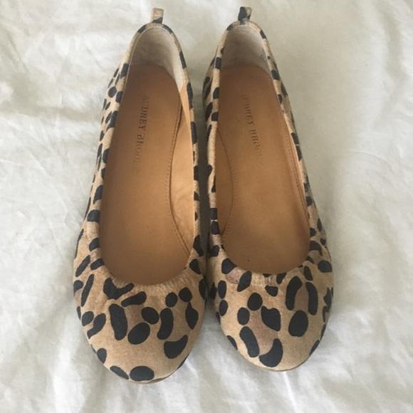 Audrey Brooke Shoes | Leopard Print