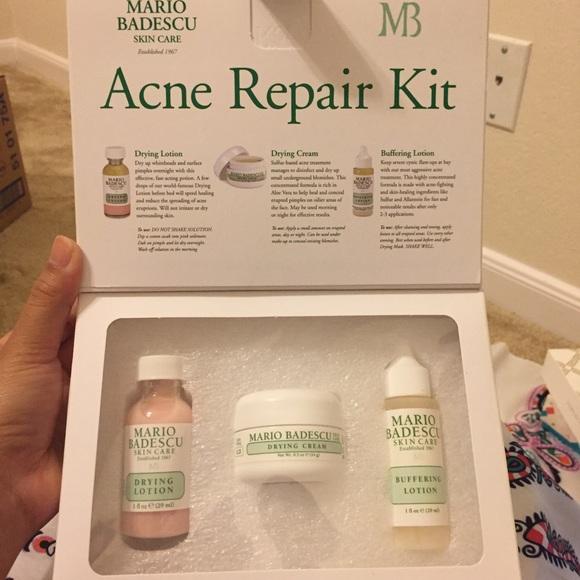 Mario Badescu Acne Repair Kit Nwt