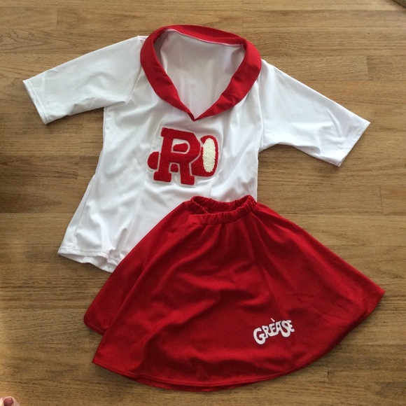 Grease  Sandy  Rydell High Cheerleader Costume & Leg Avenue Other | Grease Sandy Rydell High Cheerleader Costume ...